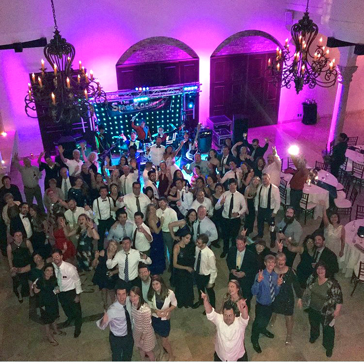 The Bell Tower on 34th with Stargazer Houston Wedding Reception Live Bands