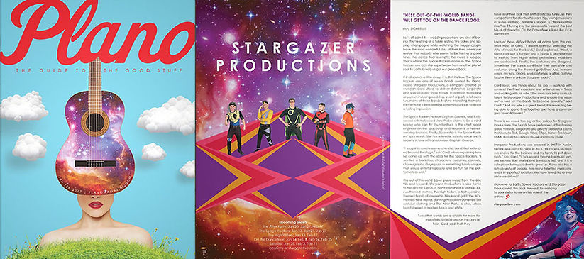 Stargazer Productions Plano Magazine