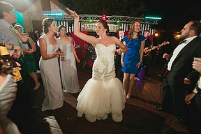This bride hired wedding band, Electric Circus