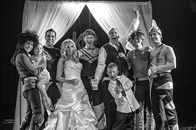 The Space Rockers wedding band are fantastic for unique weddings