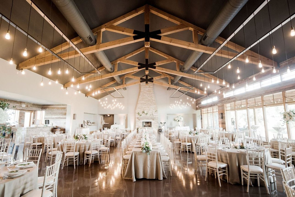 Reception hall at Canyonwood Ridge in Dripping Springs