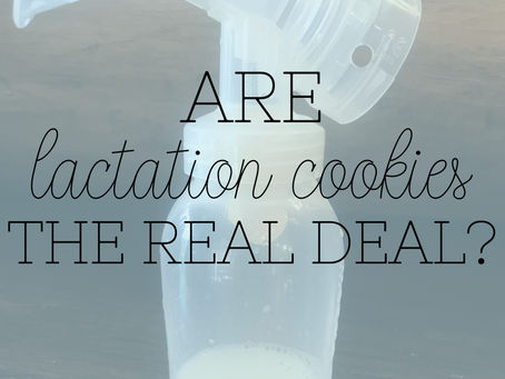 Are Lactation Cookies the Real Deal?