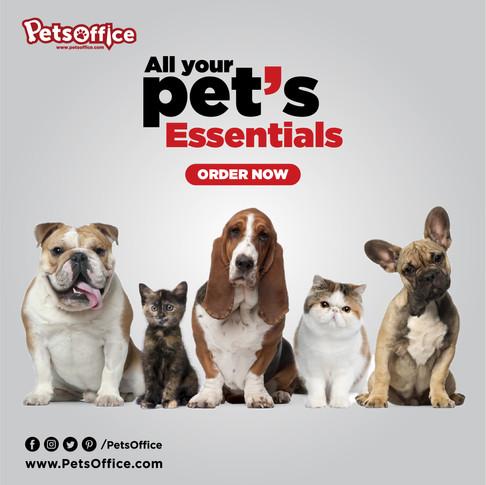 Pets Office - social media