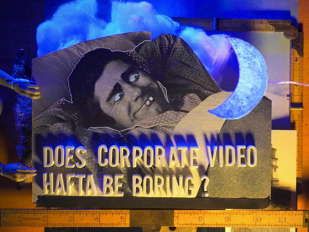 Original Illustration for Article About Corporate Video