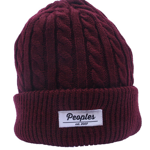 Cable Beanie (2 Colorways)