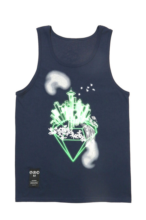 Emerald City Tank in Navy