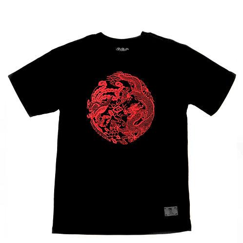 Feng Shui Tee Black/Red (Men)