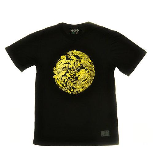 Feng Shui Tee Black/Yellow (Men)