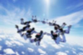 Обучение прыжкам с парашютом. Курсы AFF.
