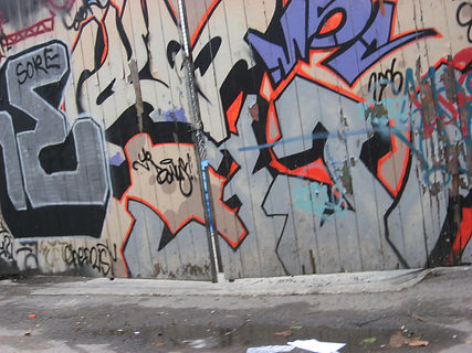 Toronto Graffiti photograped by Tarah Zaczyk