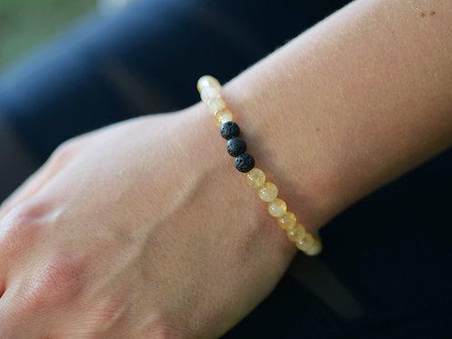 Citrine Diffuser Bracelet