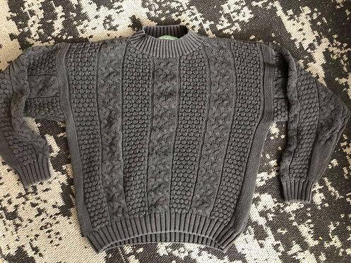 'Rumors' Cotton Knit Sweater Sz L