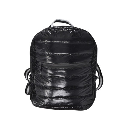 Black Puffer Bookbag