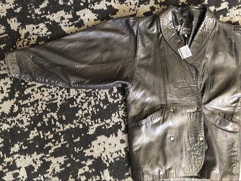 'Sphinx' Leather Jacket Sz 12