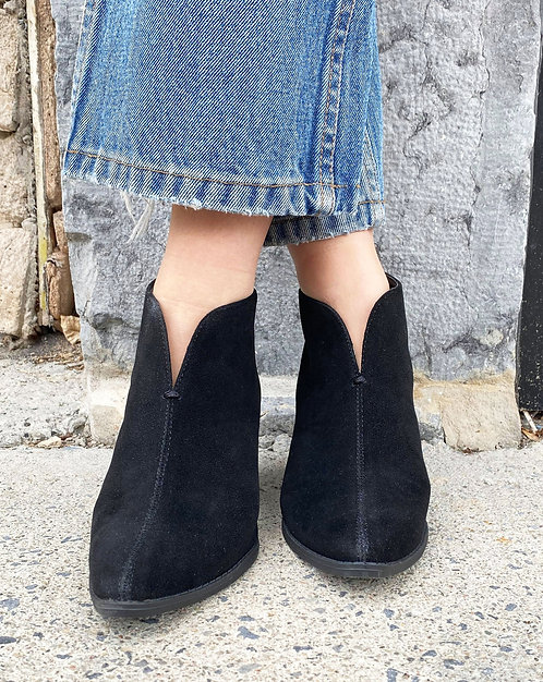 'Celeste' Bootie with Open Front