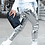 Thumbnail: Silver Sequin Leggings
