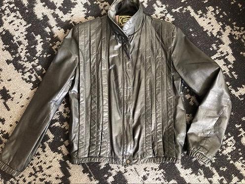 Leather Jacket Sz 7