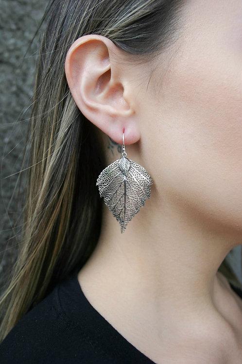'Eve' Leaf Dangle Earrings
