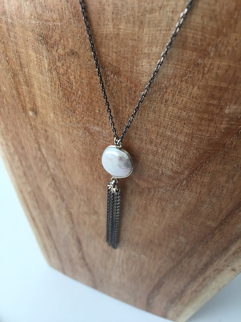 Gem and Tassel Pendant