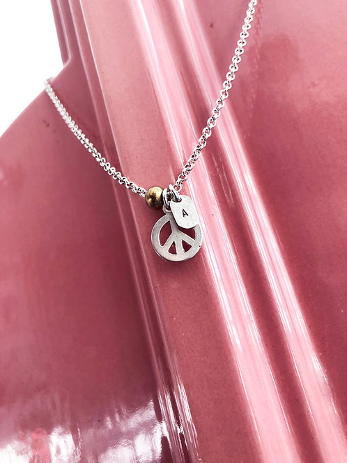 Sterling Silver Charm Pendant with Chain