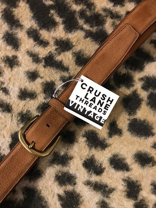 Vintage 'Christian Dior' Suede Belt
