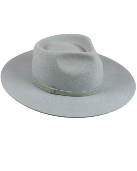 Pastel Wool Panama Hat