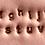 Thumbnail: Silver Vertical Bar Necklace
