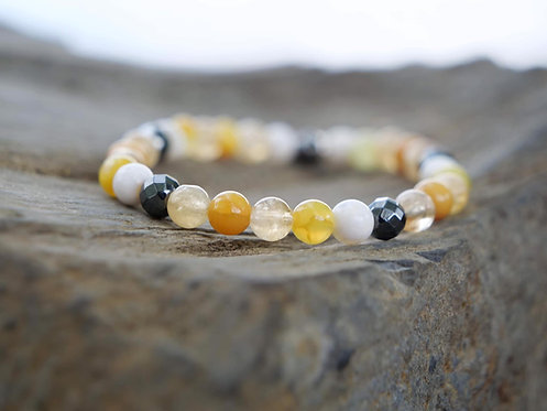 Fire Element Gemstone Bracelet