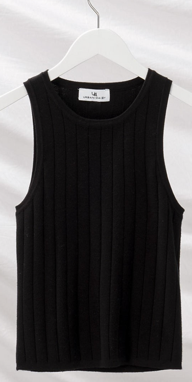 Rib Knit Sleeveless Top