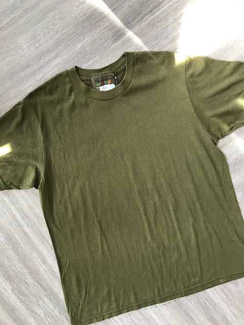 Olive Basic Training Army Tee