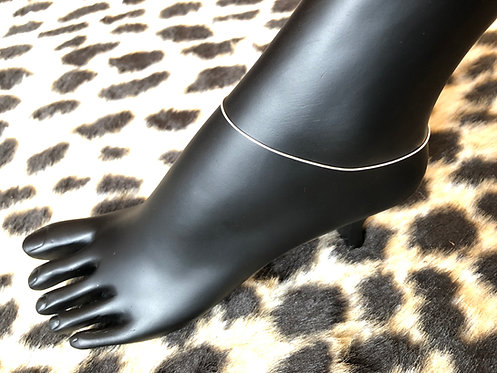 Dainty Snake Chain Anklet