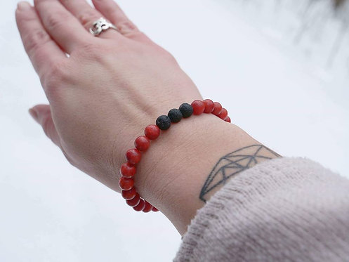 Red Sea Coral Diffuser Bracelet