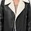 Thumbnail: Black Vegan Leather with Sherpa Aviator Jacket