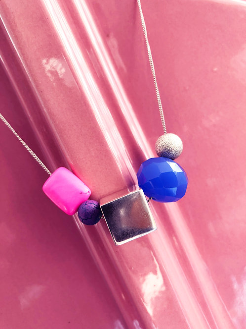 Kid's Jumbo Candy-Gem Necklace