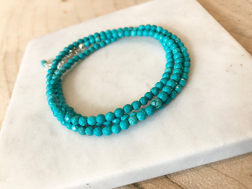 2-in-1 Triple Wrap Bracelet and Necklace