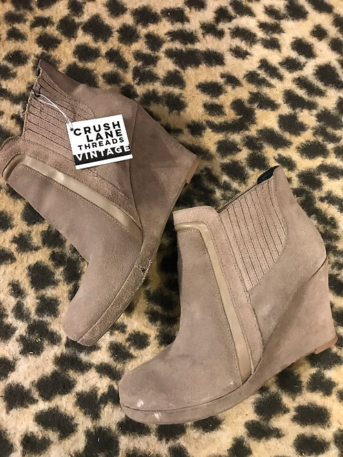 'Dolce Vita' Suede Wedge Boots