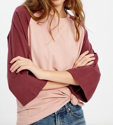 Raglan Bell Sleeve Shirt