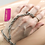 Thumbnail: Silver Chain Hand Bracelet