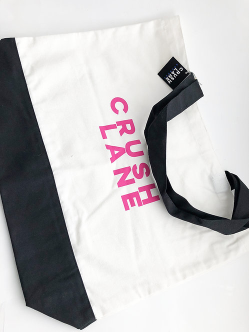 Black & White Canvas Tote Bag