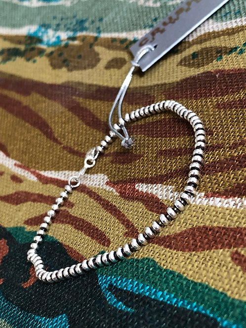 Antiqued Silver Oval Bead Chain