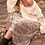 Thumbnail: Snakeskin A-Line Midi Skirt