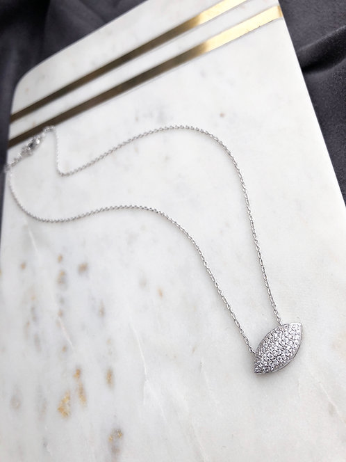 Pave Marquis Pendant with Cz's