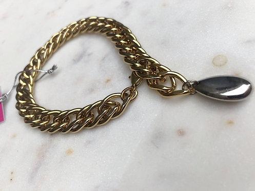 Gold Chunky Rombo Bracelet