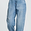 Thumbnail: Tapered Boyfriend Jeans with Curved Seams