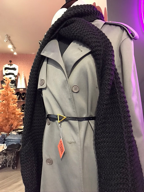 Vintage Grey 'Bellissimo' Trench
