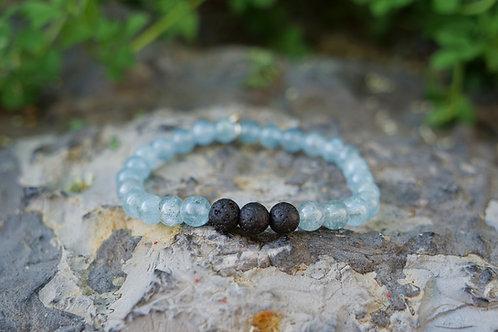 Aquamarine Diffuser Bracelet