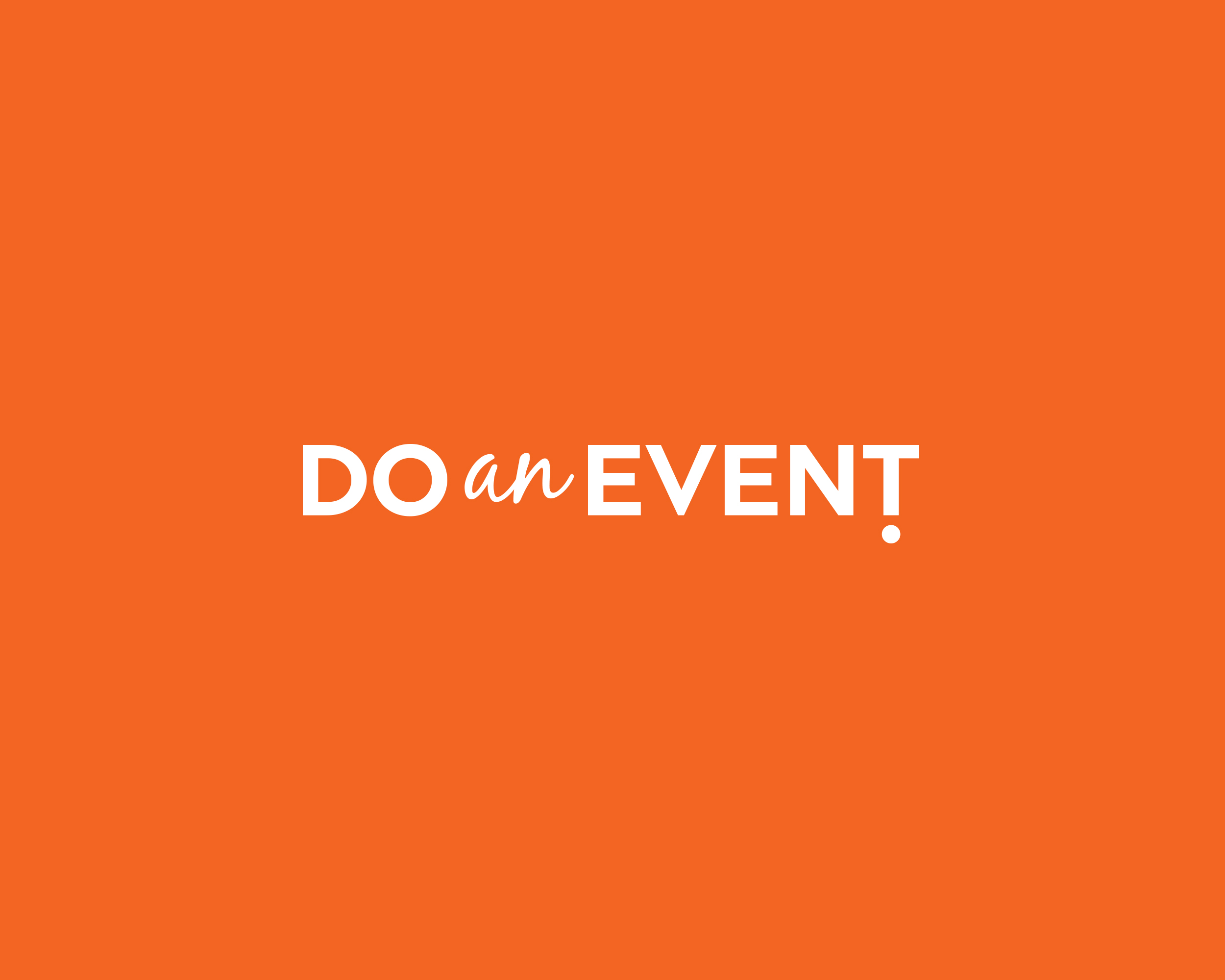 Do An Event! Logo