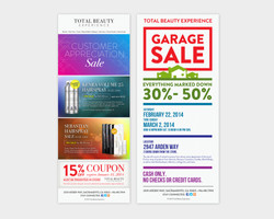 Total Beauty Experience Email Blasts