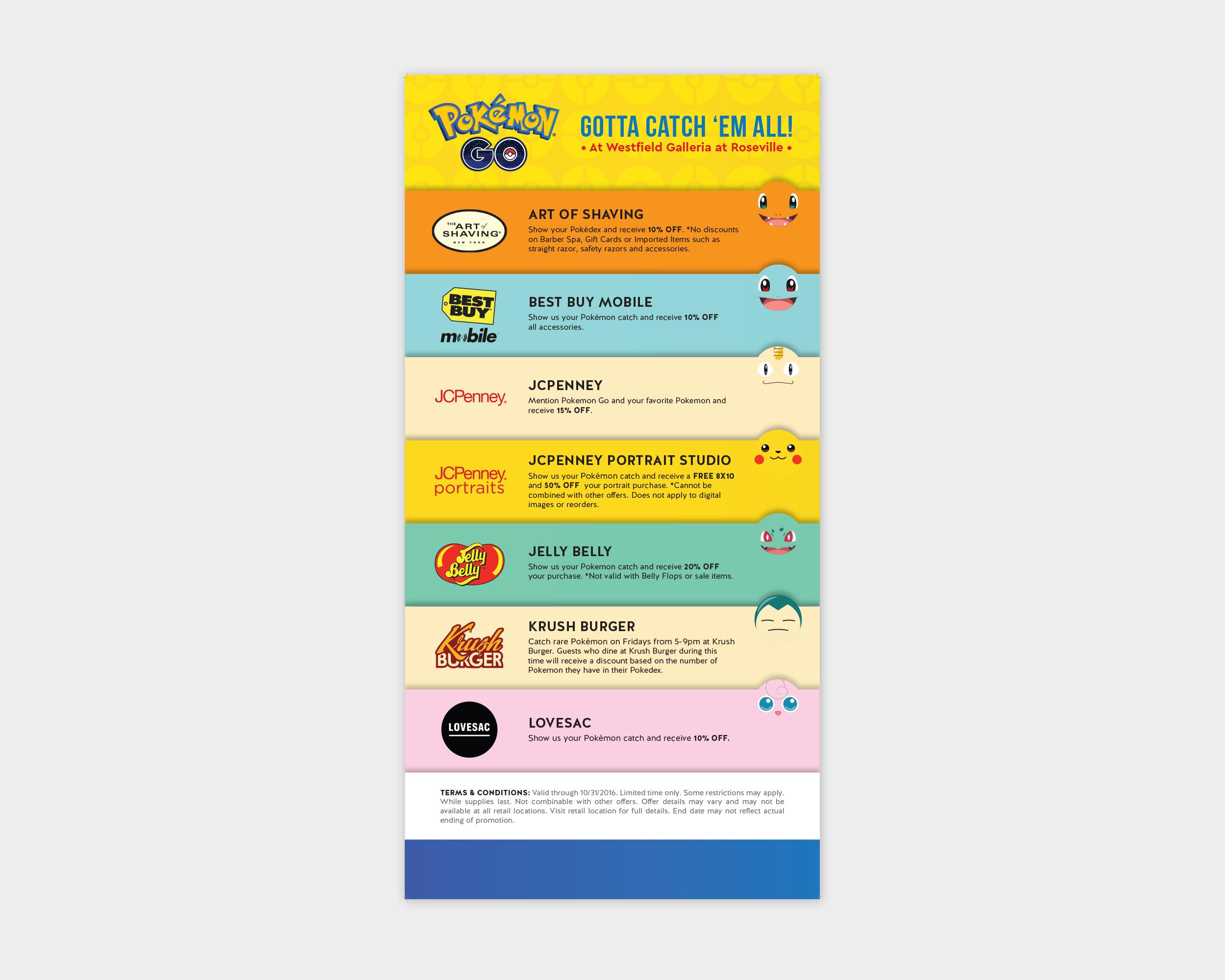 Pokémon Retailer Poster
