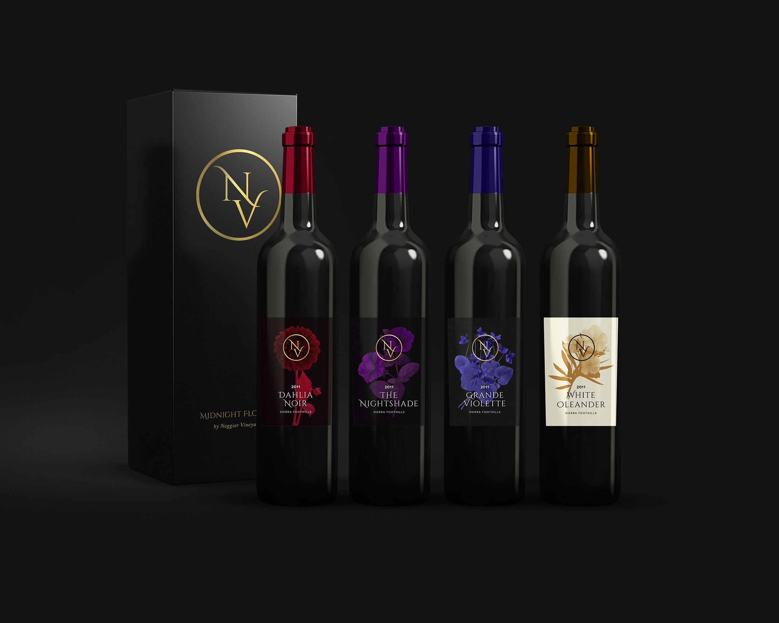 NV Wine Labels Concept